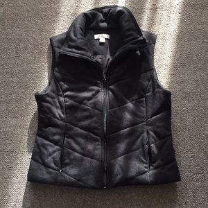 Coldwater Creek Black & Gray Vest